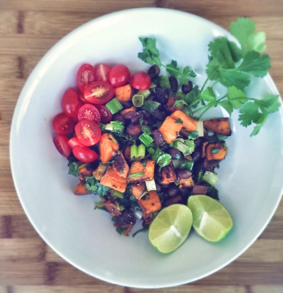Sweet Potato & BB Salad
