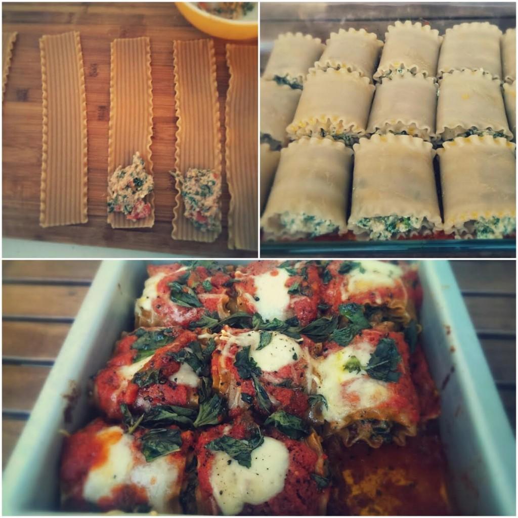 lasagna rolls pic frame