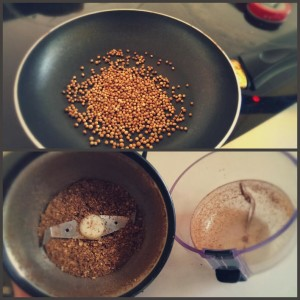 toasted coriander
